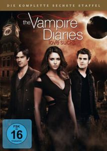 DVD The Vampire Diaries - Die komplette sechste Staffel (5 DVDs)