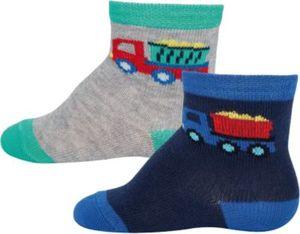 Baby Socken Doppelpack , LKW Gr. 16/17 Jungen Baby