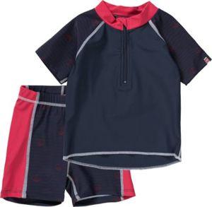 Schwimmanzug Set: T-Shirt + Shorts mit UV-Schutz Gr. 86 Mädchen Kleinkinder