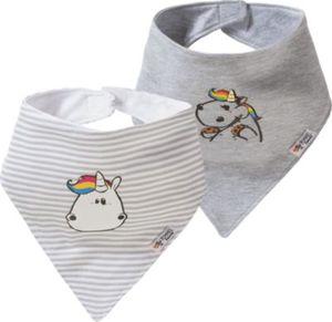 Pummeleinhorn Baby Dreieckstücher Doppelpack Gr. one size