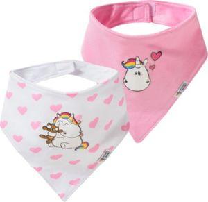 Pummeleinhorn Baby Dreieckstücher Doppelpack Gr. one size Mädchen Kinder