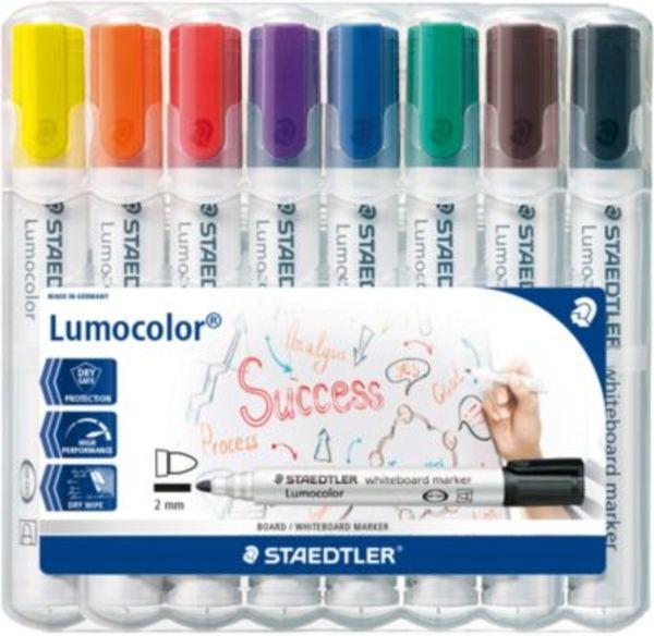 Lumocolor Whiteboard Marker 2 mm, 8 Farben