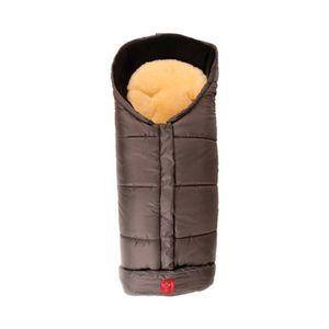 KAISER   Thermo-Fußsack mit Lammfelleinlage Sheepy für Kinderwagen, Buggy anthrazit