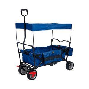 PINOLINO   Klappbollerwagen Paxi mit Bremse blau