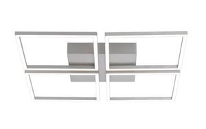 Paul Neuhaus - LED-Deckenleuchte Inigo in stahlfarben, 4-flammig