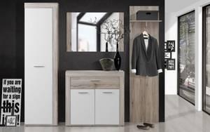 HARDi - Garderobe Zumba in Sandeiche-Optik/weiß