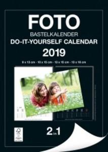 Foto-Bastelkalender 2in1