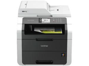 BROTHER MFC-9142CDN Elektrografie LED 4-in-1 Laser-Multifunktionsdrucker (Farbe) Netzwerkfähig