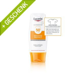 Eucerin Sensitiv Protect Sun Lotion Extra Light LSF 50