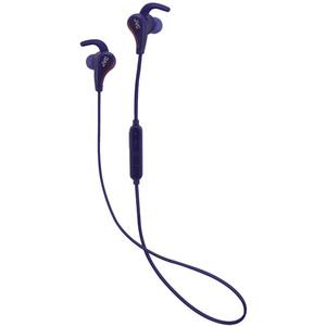 JVC HA-ET 50BTAE (blau) - Bluetooth Sport In-Ear Kopfhörer (Schweißabweisend, 3-Tasten-Fernbedienung, integriertes Mikrofon)
