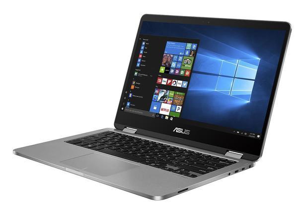 "Asus VivoBook Flip TP401NA-EC044T / 14"" Full-HD 2-in-1 Display / Intel Pentium N4200 / 4GB RAM / 128GB eMMC / Windows 10"