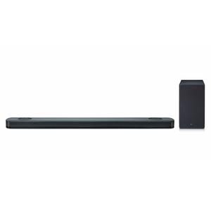 LG SK9Y, Schwarz - 5.1.2 Soundsystem (Dolby Atmos, 500W, ASC, Meridian Audio)