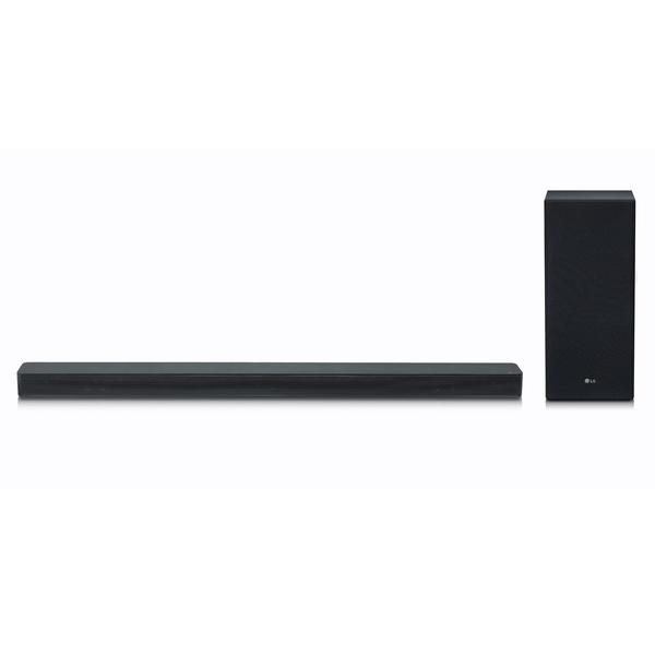 LG SK6F, Schwarz - 2.1 Soundsystem (DTS Virtual:X, 360W, ASC, FM Radio, Drahtloser Subwoofer)