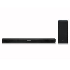 LG SK5, Schwarz - 2.1 Soundsystem (DTS Virtual:X, 360W, SoundSync, Drahtloser Subwoofer)