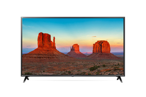 LG 65 UK 6300 LLB - 164 cm (65 Zoll) Fernseher (4K Ultra HD, HDR 10, Smart TV, WLAN, Triple Tuner (DVB T2), USB)