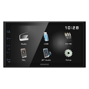 "Kenwood DMX-110BT - 2-DIN Digital Media Receiver (4x 50 W, 17.3 cm (6.8"") Touch-Panel, Bluetooth 2.1, USB)"