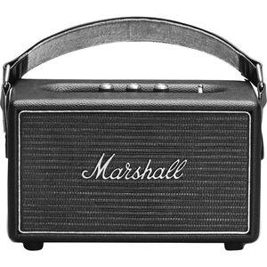 "Marshall Kilburn Steel Edition (silber) - Tragbarer Bluetooth Lautsprecher (Vintage-Design, Bluetooth 4.0, 20 Std. Akku, 4"" Bas"