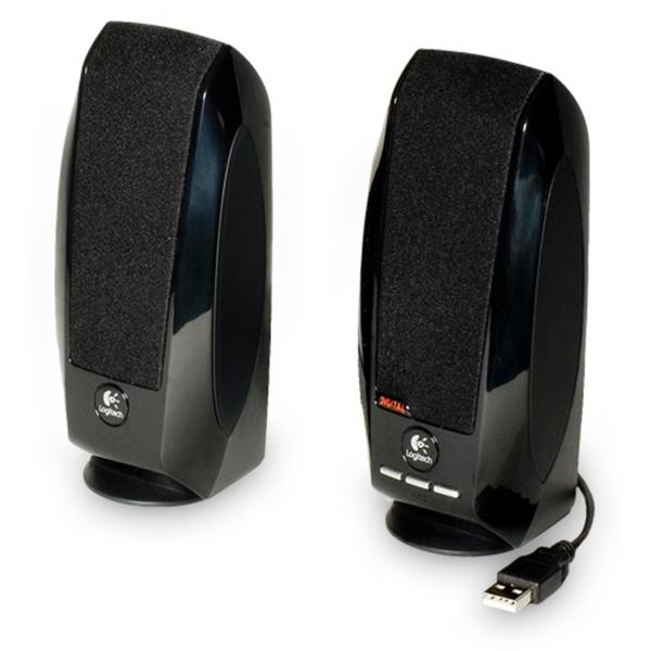 Logitech S150 Digital USB Lautsprecher - für PC - 1.2W RMS - Paar - Schwarz