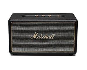 Marshall Acton (schwarz) - Aktiver Stereo-Lautsprecher (Bluetooth V4.0 + EDR, Line-In)