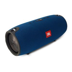 JBL Xtreme (blau) - Bluetooth-Lautsprecher (Bluetooth 4.1, spritzwasserfest, 15 Std. Akku)
