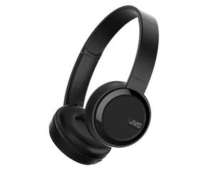 JVC HA-S40BT-B-E Schwarz (Bluetooth 3.0, 4-Tasten-Fernbedienung, Akku)