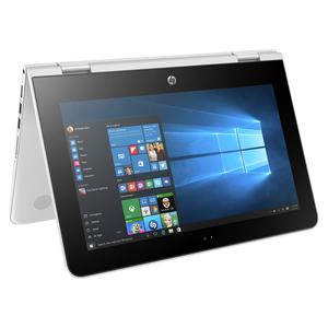 "HP x360 11-ab005ng 11.6"" HD Touch, Intel Pentium N3710, 4GB, 500GB HDD, Win10, Weiß"