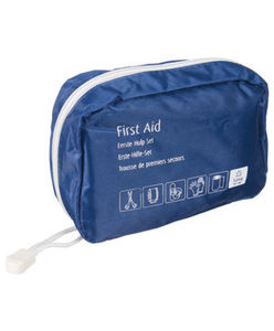 Erste Hilfe Set - mit Reißverschluss - 30-tlg. Set