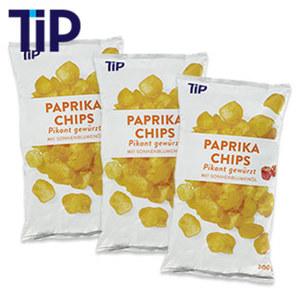 Paprika Chips 200-g-Beutel, ab 3 Tüten je