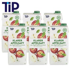 Klarer Apfelsaft 1-Liter-Packung, ab 6 Packungen je