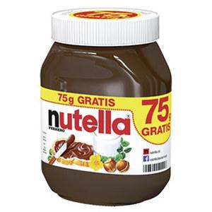 nutella Nuss Nougat Creme jedes 750-g + 75-g gratis = 825-g-Bonusglas