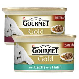 Gourmet Gold  Katzen-Nassnahrung versch. Sorten, jede 85-g-Dose