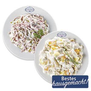 Fleisch-, Wurst- oder Geflügelsalat je 100 g