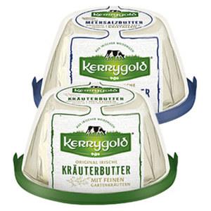 Kerrygold Original Irische Meersalz- oder Kräuterbutter jede 150-g-Packung