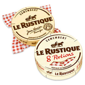 Camembert Le Rustique Französischer Weichkäse, 45 % Fett i. Tr./11 % Fett absolut,   jede 240/250-g-Packung