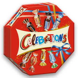 Celebrations jede 269-g-Packung