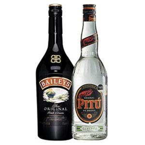 Baileys Original Irish Cream und weitere Sorten oder Pitu 17/40 % Vol., jede 0,7-l-Flasche