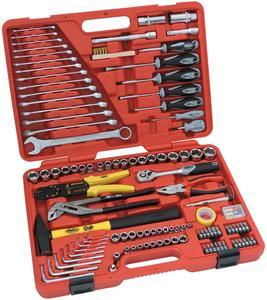 FAMEX 136-29 Universal-Werkzeugkoffer 197-teilig
