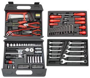 FAMEX 255-76 Universal Werkzeugkoffer 156-teilig