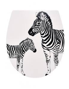 Ridder WC-Sitz mit Soft-Close Zebra