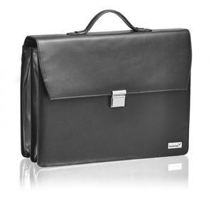 Aktentasche Bjorn für Laptop bis 17 Zoll aus Leder