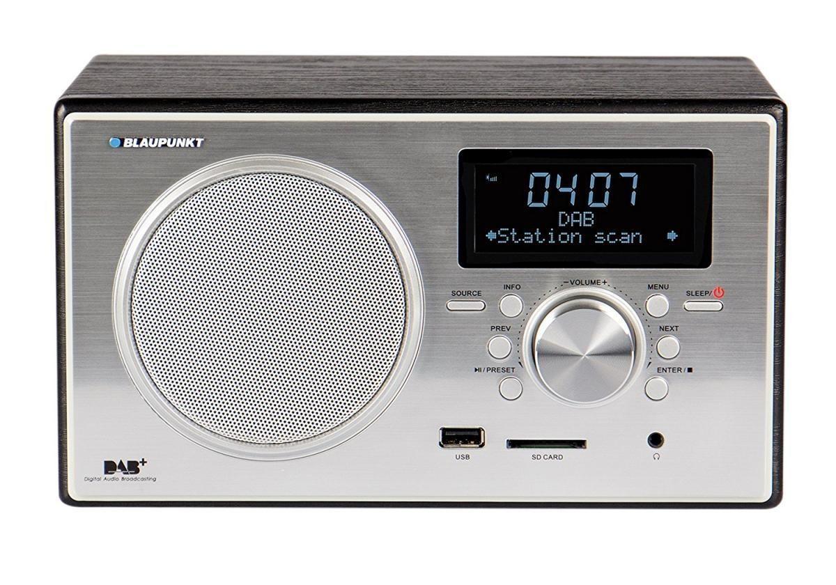 Bild 1 von Blaupunkt RXD 35 BK Digitalradio DAB+ UKW FM LCD Display USB SD Wecker