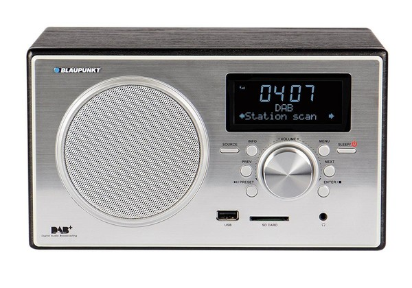 Blaupunkt RXD 35 BK Digitalradio DAB+ UKW FM LCD Display USB SD Wecker