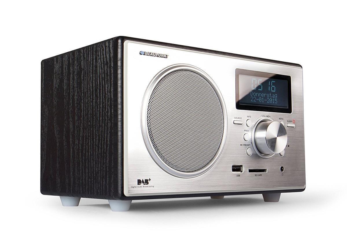 Bild 2 von Blaupunkt RXD 35 BK Digitalradio DAB+ UKW FM LCD Display USB SD Wecker