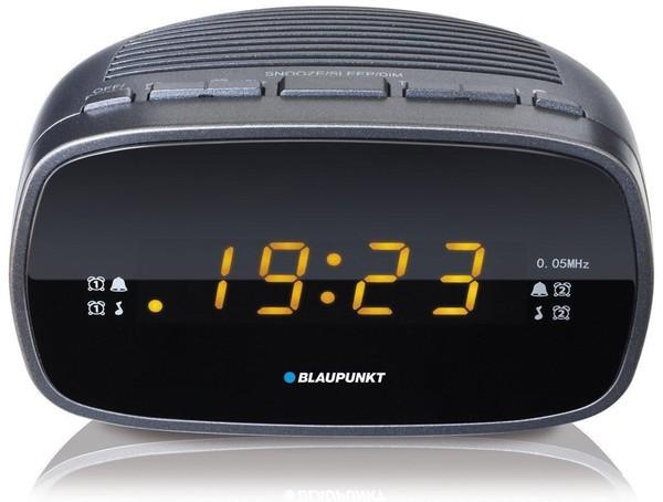 Blaupunkt CLR 80 DG Uhrenradio mit Wecker, PLL FM-Lautsprecher, 2 Weckzeiten, Snooze-, NAP und Sleep