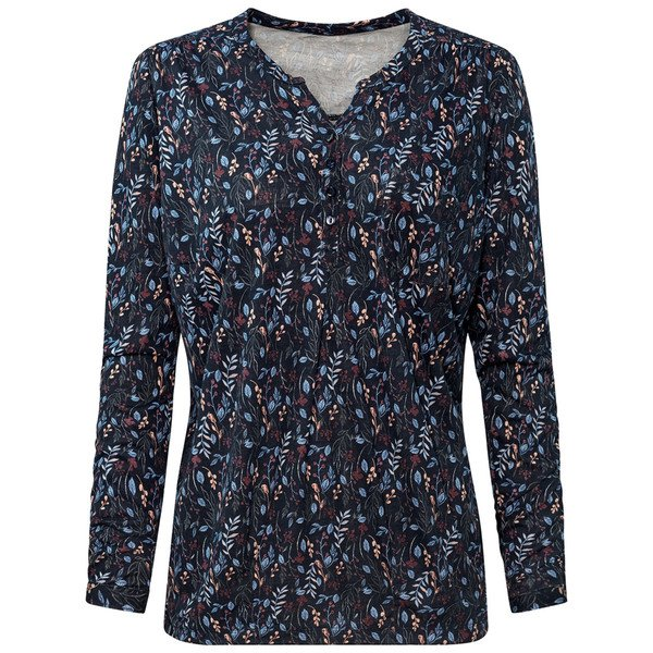 Damen Umstands-Blusenshirt mit Allover-Print