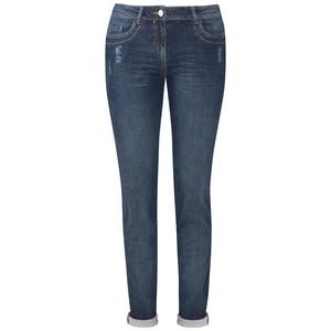Damen Boyfriend-Jeans mit Galonstreifen