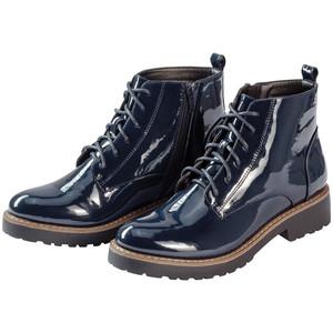 Damen Boots in Lack-Optik