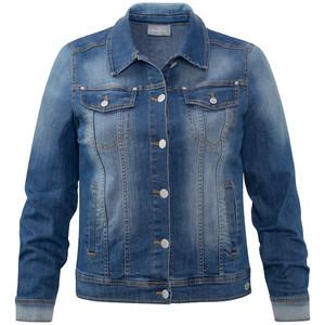 Damen Jeansjacke mit Used-Effekten