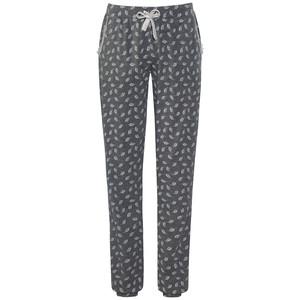 Damen Pyjamahose mit Alloverprint