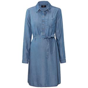 Damen Umstands-Kleid in Denim-Optik